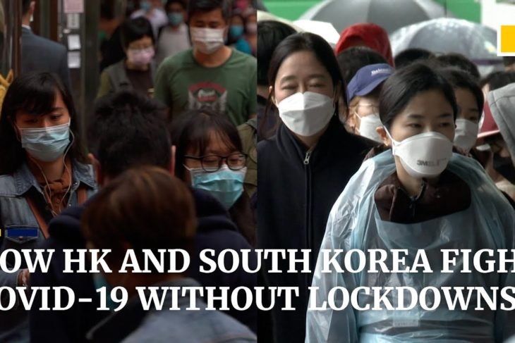 How Hong Kong and South Korea manage to keep Covid-19 at bay without enforcing lockdowns