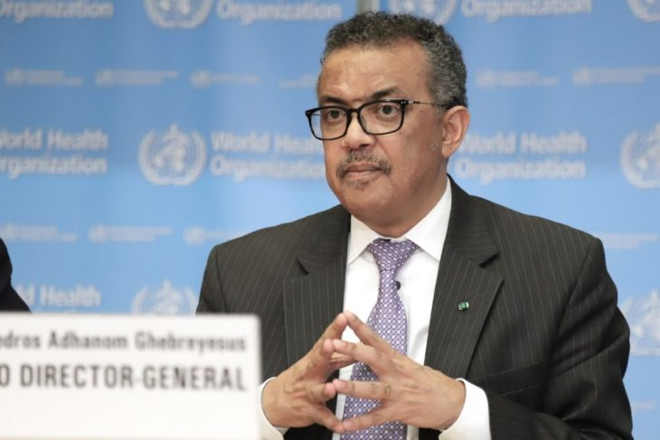 CGTN funded by China, WHO funded by China, Corona Virus funded by China WHO Director-General, Tedros makes statement世界卫生组织总干事谭德塞发表讲话
