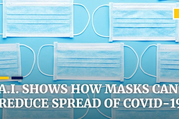 Coronavirus spread would dramatically drop if 80% of a population wore masks, AI researcher says
