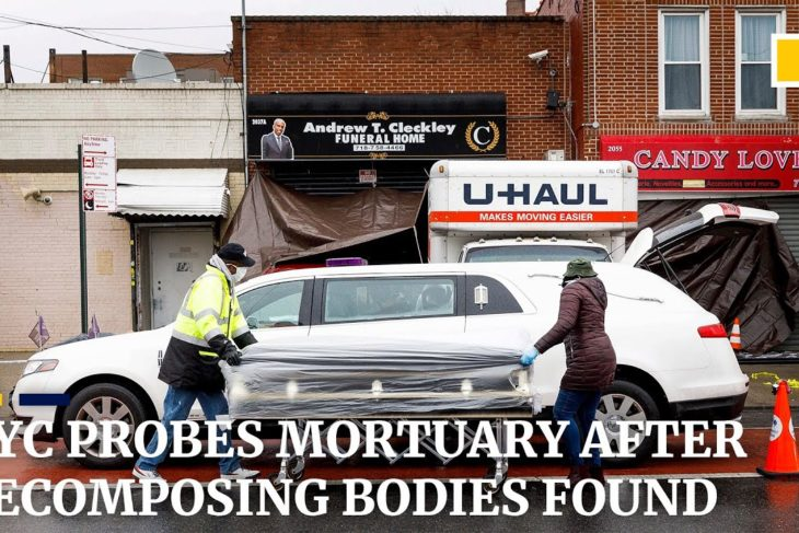 Coronavirus: New York probes funeral home after decomposing bodies found in trucks outside