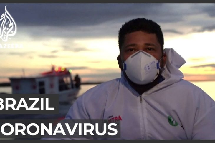 Brazil's outbreak: Health workers struggle to reach remote areas