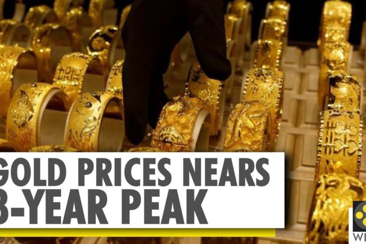 Gold prices hit fresh records today; COVID-19 crisis increases demand