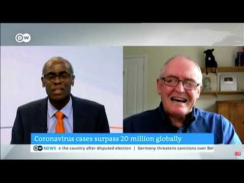 Corona Virus update – DW Interview , Global cases and Russian vaccine