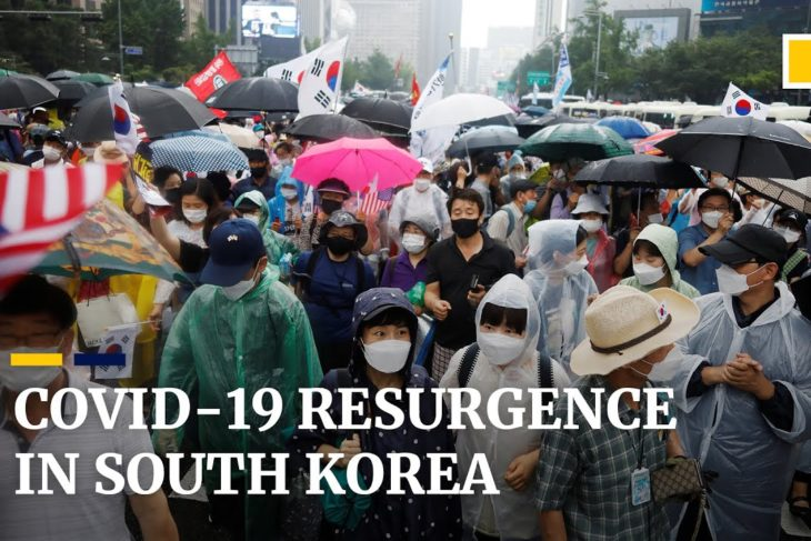 South Korea sees biggest coronavirus outbreak in five months with cases linked to church protest