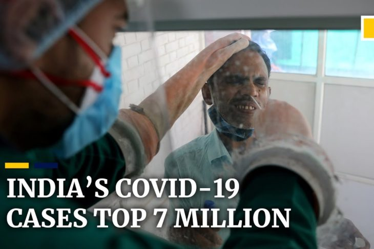 As cases top 7 million, India poised to overtake the US with world's highest Wuhan coronavirus caseload